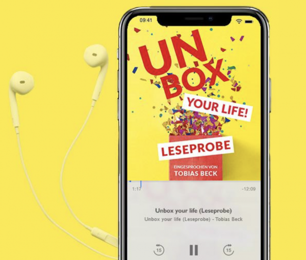 "Leseprobe von ""Unbox Your Life"" im Audio Book Download"