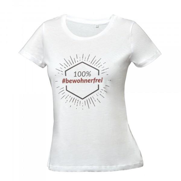 T-Shirt: 100% #bewohnerfrei