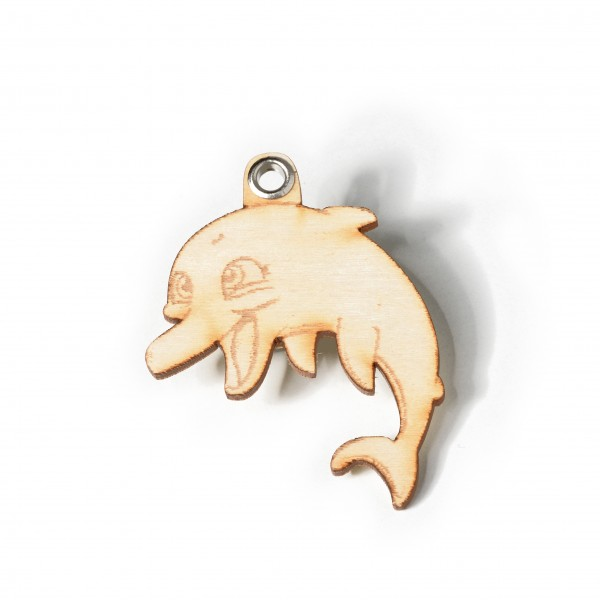 Schlüsselanhänger: Delphin