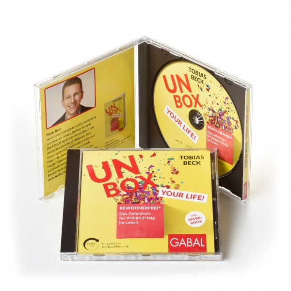 Unbox your Life Hörbuch mp3 CD