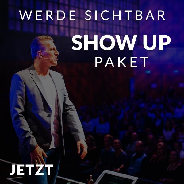 SICHTBARKEITSPAKET (Show Up)